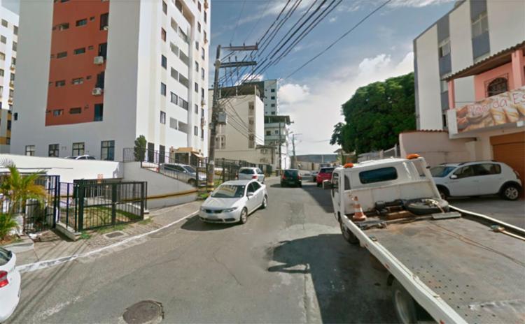 Um dos crimes foi na rua Carinhanha, em Pernambués - Foto: Reprodução | Google Maps