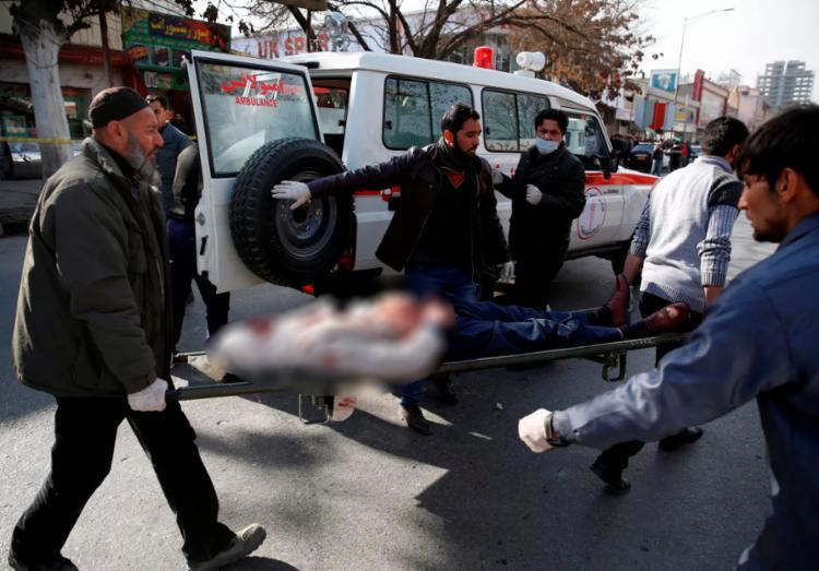 Ataque ocorreu perto dos consulados da União Europeia e da Índia - Foto: Reprodução   Reuters