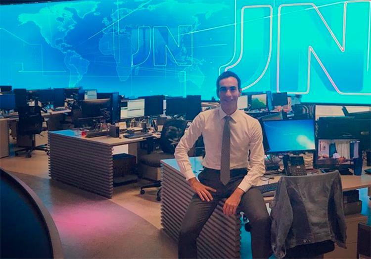 Jornalista estreou no Jornal Nacional neste sábado, 27 - Foto: Reprodução | Instagram