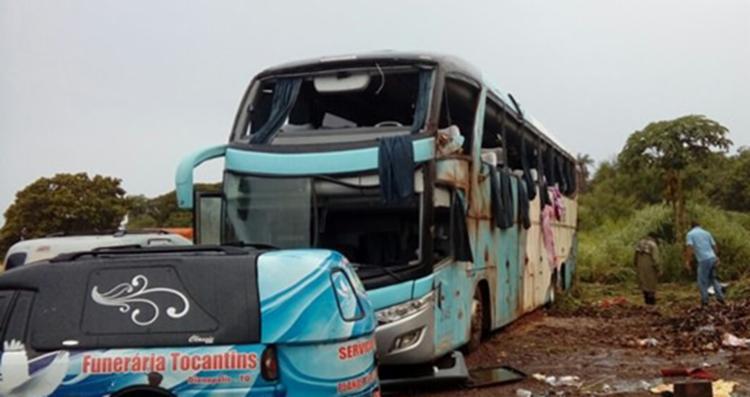 Motorista alegou que ônibus ficou sem freio - Foto: Reprodução   AF Notícias