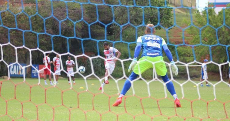Elenco treinou situações de jogo com o técnico - Foto: Divulgação | ECBahia