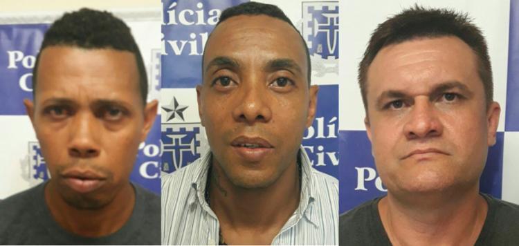 Suspeitos foram autuados por estelionato e encaminhados para a audiência de custódia - Foto: Divulgação | PC-BA