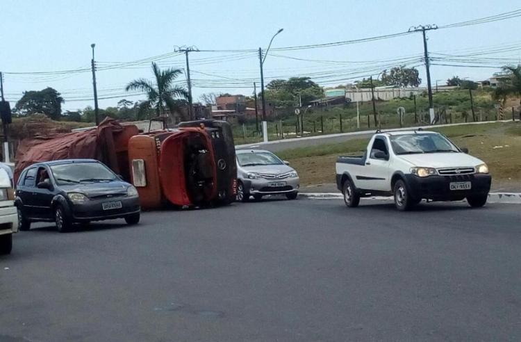 O trânsito está intenso na região - Foto: Cidadão Repórter | Whatsapp