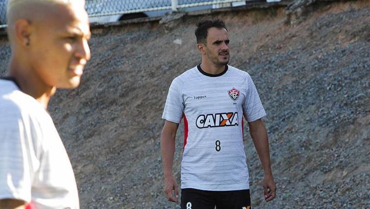 Lateral-direito Lucas, de 29 anos, é o principal reforço contratado pelo Vitória até o momento - Foto: Maurícia da Matta l EC Vitória