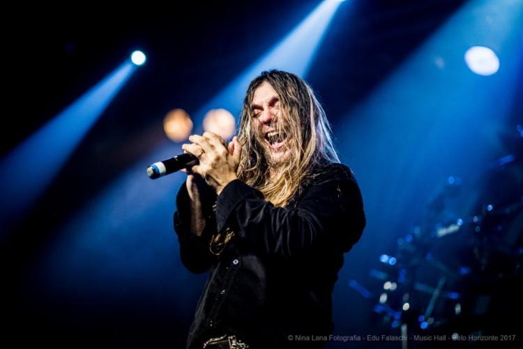 Edu Falaschi apresenta em Salvador o show da turnê Rebirth of Shadows - Foto: Nina Lana | Divulgação