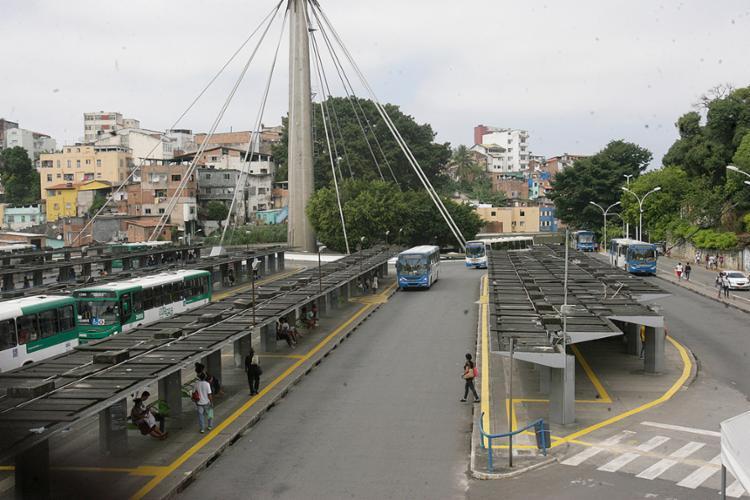 O objetivo é ampliar a oferta de transporte para a estação da Lapa - Foto: Luciano da Matta l Ag. A TARDE