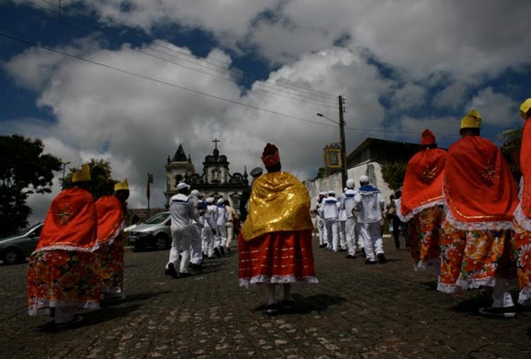 Grupos participantes se reúnem no Cruzeiro do Convento de Santo Antônio, às 10h, para que sigam pelas ruas da cidade - Foto: Divulgação