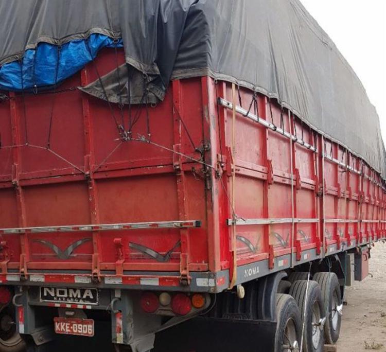 Material estava sendo transportado para Santo Amaro - Foto: Divulgação | Polícia Civil