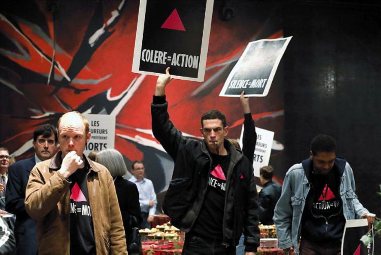Filme mostra rotina dos ativistas para chamar atenção para a Aids na França da década de 1990 - Foto: Divulgação