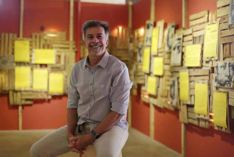 Diretor teatral Fernando Guerreiro está á frente da FGM desde 2013 - Foto: Raul Spinassé   Ag. A TARDE