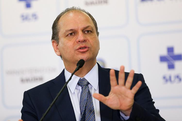 Ricardo Barros fez um balanço dos investimentos da Saúde em 2017 - Foto: Marcelo Camargo l Agência Brasil