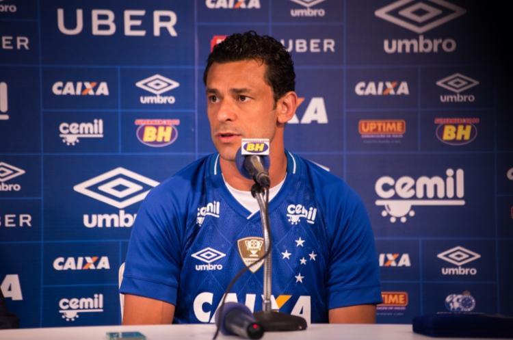Fred rescindiu com o Atlético Mineiro e voltou para o rival Cruzeiro - Foto: Bruno Haddad | Site Oficial do Cruzeiro