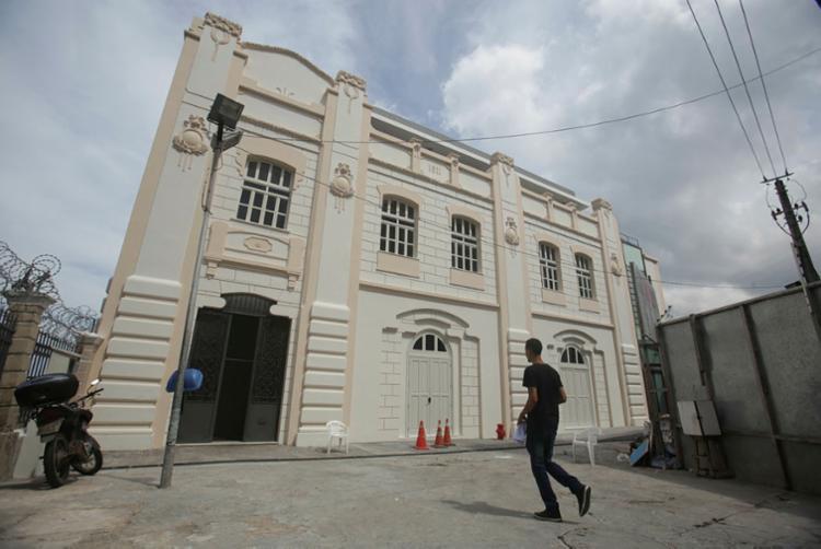 Prédio histórico foi reformado para receber o Museu do Carnaval - Foto: Raul Spinassé | Ag. A TARDE