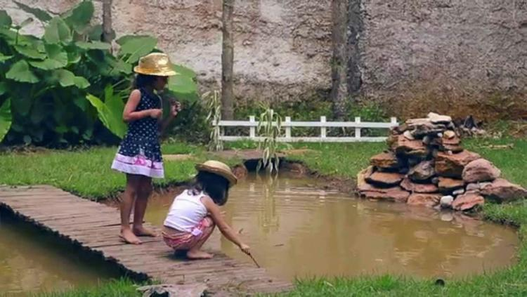 Acampamento é uma das opções de lazer para crianças - Foto: Divulgação