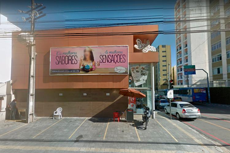 O caso aconteceu por volta das 15h, na delicatessen Bonjour, na rua São Paulo - Foto: Reprodução | Google Street View