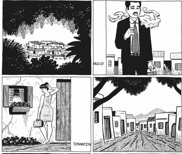 Diastrofismo Humano integra a saga Crônicas de Palomar, do quadrinista californiano Gilbert Hernandez - Foto: Reprodução