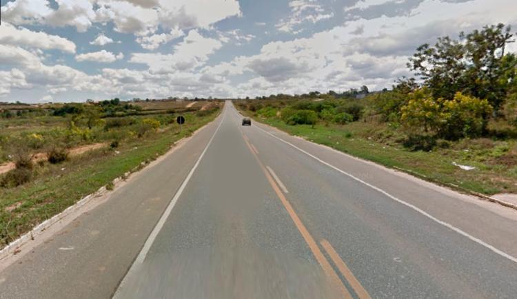 Acidente aconteceu no Anel Rodoviário Jadiel Vieira Matos - Foto: Reprodução   Google Street View