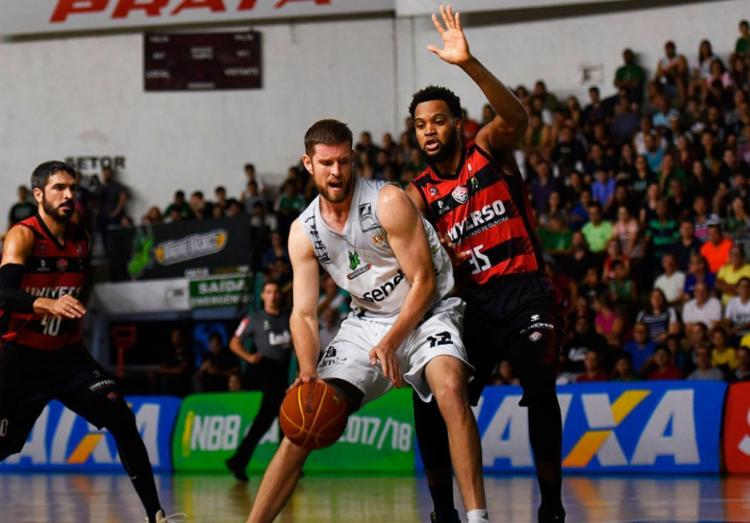 Os atuais campeões do NBB não tiveram dificuldades para vencer a equipe Rubro-Negra - Foto: Victor Lira   Bauru Basket