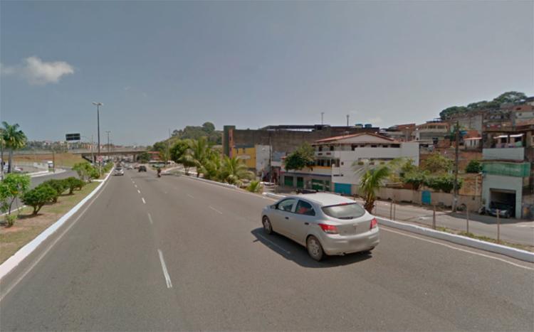 O caso aconteceu na localidade da Baixinha de Santo Antônio, próximo da avenida Luís Eduardo - Foto: Reprodução | Google Maps