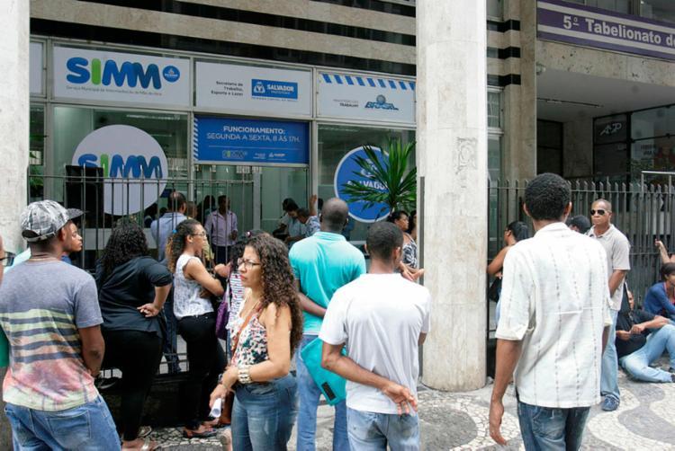 Interessados devem comparecer a sede do SIMM, no Comércio - Foto: Luciano da Matta | Ag. A TARDE | 28.03.2017