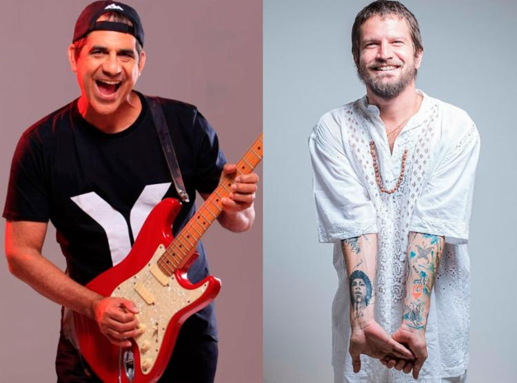 Durval e Saulo apresentam grandes sucessos em show na Arena Fonte Nova - Foto: Divulgação e Lucas Seixas