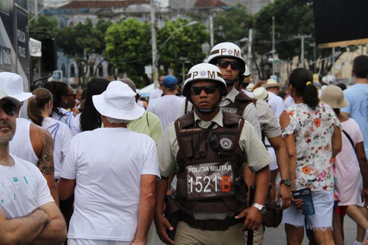 Mais de 1.600 Policiais Militares trabalharão no evento - Foto: Divulgação   SSP-BA