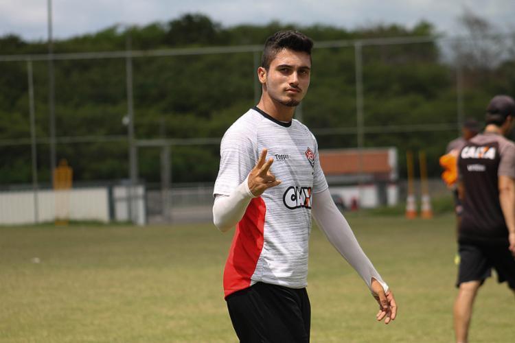 Luan marcou cinco gols em três jogos na Copinha - Foto: Maurícia da Matta l EC Vitória