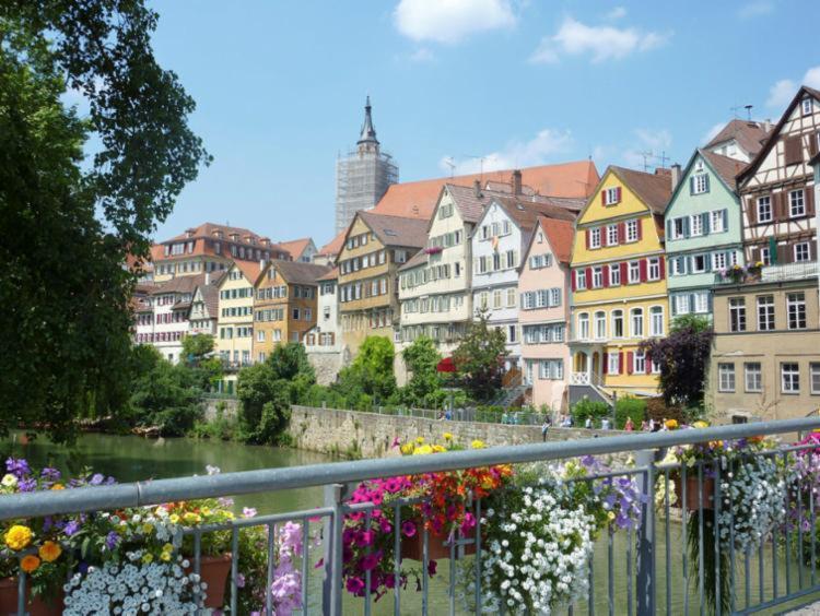 Primavera em Tuebingen, cidade famosa pela sua universidade - Foto: Divulgação