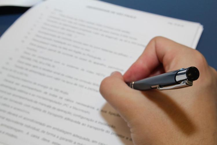 Exame de seleção vai ser constituído de prova escrita - Foto: Marcos Santos | USP Imagens