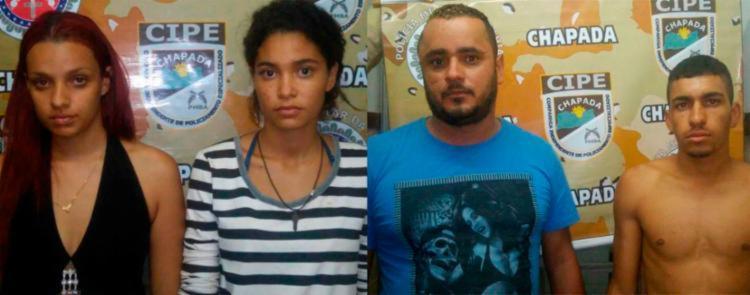 Suspeitos estavam dentro de uma casa na zona rural de Souto Soares - Foto: Divulgação | SSP-BA