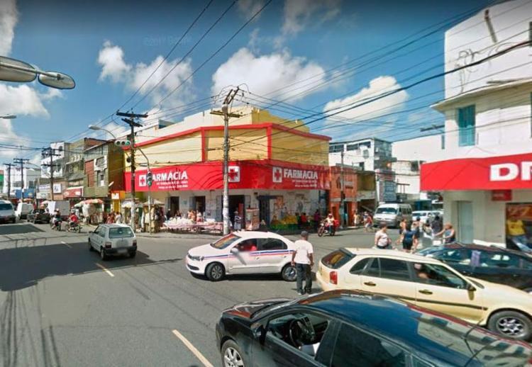 Policiamento foi reforçado no bairro para o retorno dos rodoviários - Foto: Reprodução | Google Maps
