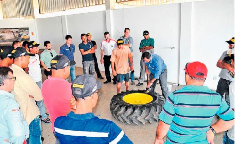 Cursos técnicos foram realizados pelo Centro de Treinamento Parceiros da Tecnologia - Foto: Abapa | Divulgação