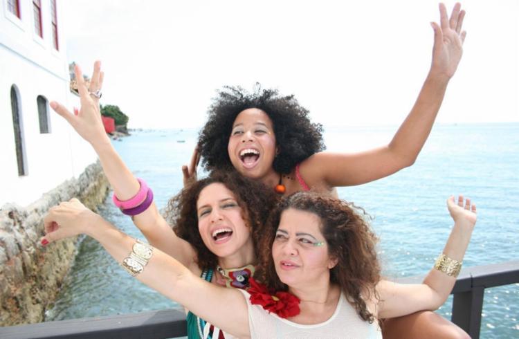 Cláudia Cunha, Manuela Rodrigues e Sandra Simões fazem show no dia 10 de fevereiro - Foto: Divulgação