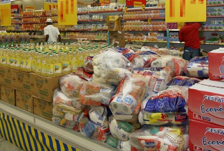 Salvador registra maior redução do valor da cesta básica entre 12 capitais - Foto: Carlos Casaes | Ag. A TARDE