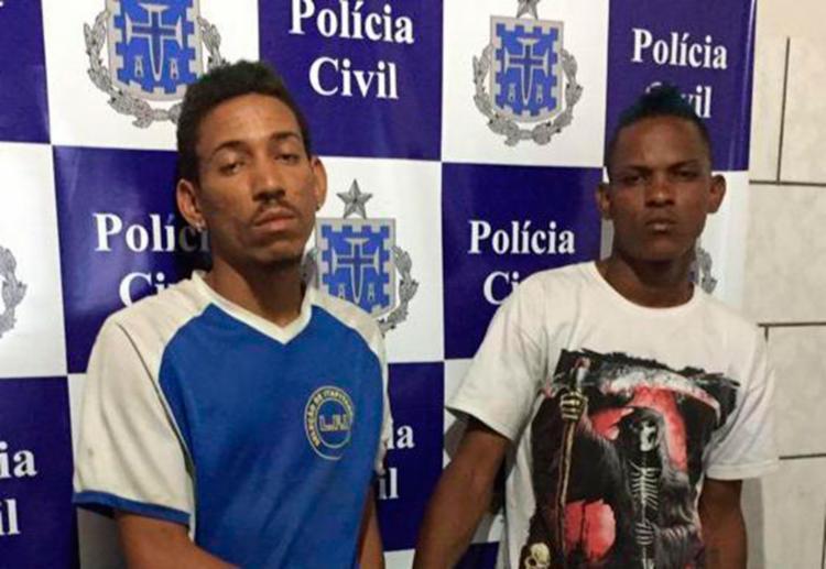 Danilo e Lucas estão à disposição da Justiça - Foto: Divulgação | PC-BA
