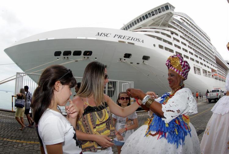 Gasto médio de cada visitante é de R$ 485 nesta temporada - Foto: Xando Pereira | Ag. A TARDE