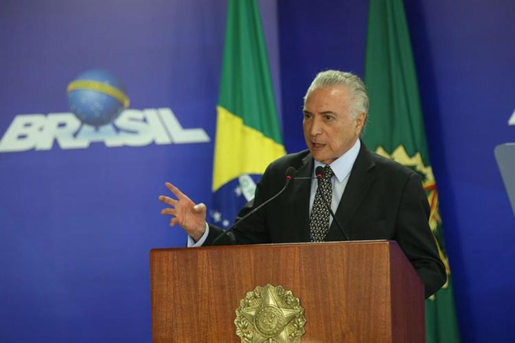 Temer se diz convencido de que, seja quem for o presidente, terá de aprovar a reforma - Foto: Antonio Cruz l Agência Brasil