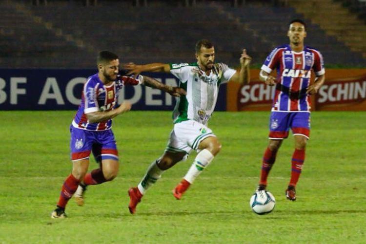 Com dificuldade, Bahia vence o Altos-PI - Foto: Wilson Filho | Cidadeverde.com