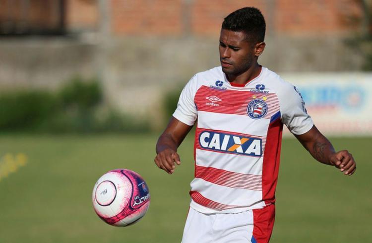 Kayke marcou gol e deu uma assistência diante do Altos-PI - Foto: Felipe Oliveira | EC Bahia