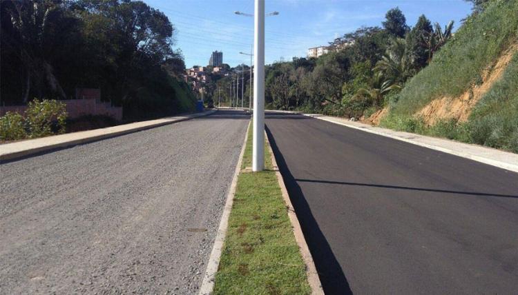 Via Barradão vai ser inaugurada um dia antes do Ba-Vi, neste sábado, 17 - Foto: Divulgação