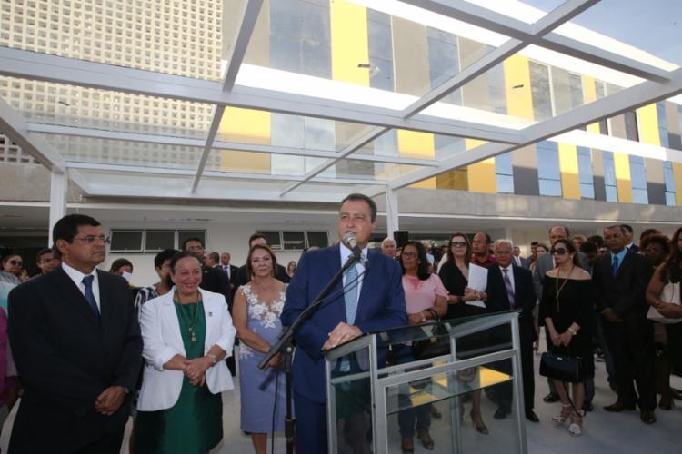 O governador Rui Costa participou da inauguração do equipamento - Foto: Carol Garcia/GOVBA
