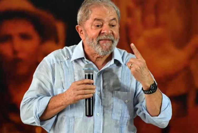 Lula foi condenado em julho a 9 anos e 6 meses de prisão pelos crimes de corrupção passiva e lavagem de dinheiro - Foto: Divulgação