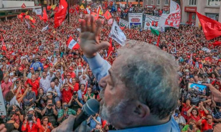 Os petistas calculam que, se consumada, a prisão de Lula deve ocorrer em março - Foto: Ricardo Stuckert   PT   Reprodução