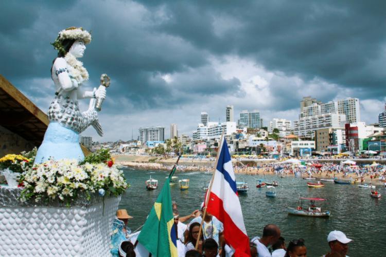Lavagem de Itapuã acontece no dia 1º de fevereiro e a do Rio Vermelho, no dia 2 - Foto: Divulgação | SSP