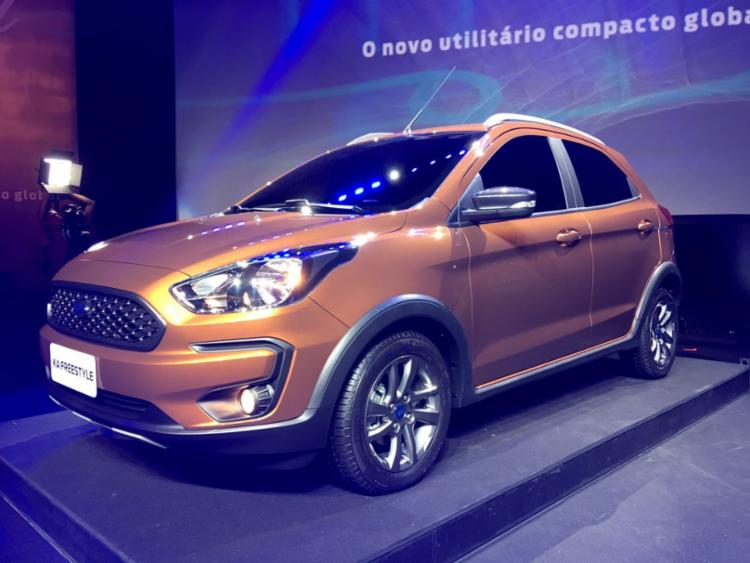 Ford realiza lançamento global do seu ultilitario compacto: Ka Freestyle - Foto: Divulgação