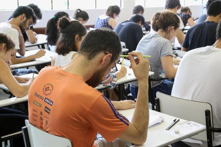 Exame será constituído de etapa única, uma prova escrita aplicada para todos os candidatos - Foto: Marcos Santos | USP Imagens | Divulgação