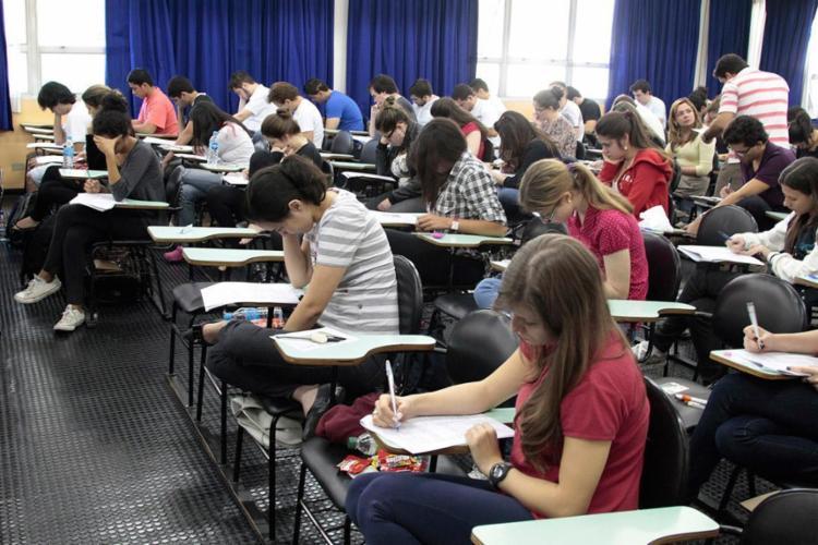 Prova será aplicada das 8h30 às 12h30 - Foto: Marcos Santos   USP Imagens   Divulgação