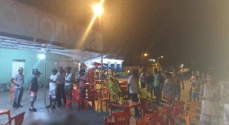 Tiroteio aconteceu em um bar de Porto Seguro - Foto: Reprodução | Radar64