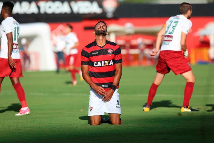 Atacante foi vendido pelo Vitória ao time do São Paulo - Foto: Adilton Venegeroles | Ag. A TARDE
