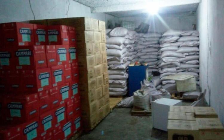 Quadrilha foi presa e carga de bebida recuperada em Amélia Rodrigues - Foto: Reprodução | Blog Jacuípe Notícias